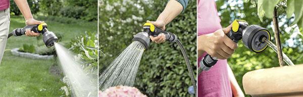 4 типа струи распылителя