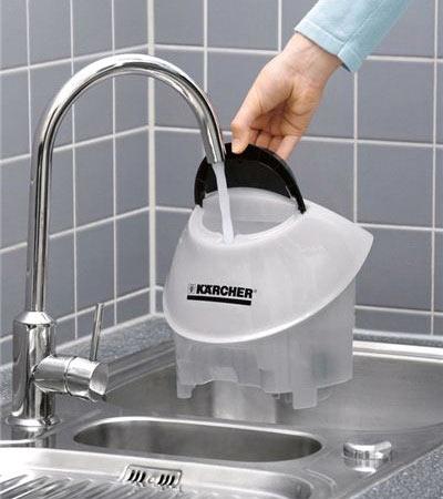 Отдельный бак для воды