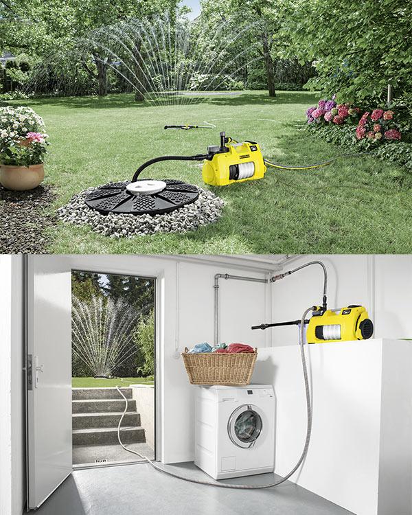 Использование насоса Karcher BP 7 Home & Garden