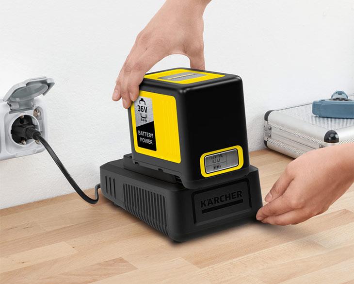 Быстрозарядное устройство  Karcher Fast Charger Battery Power 36 V