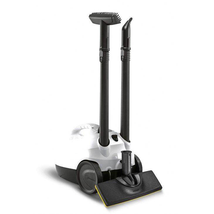 Хранение аксессуаров и парковочная позиция у Karcher SC 2 EasyFix Premium