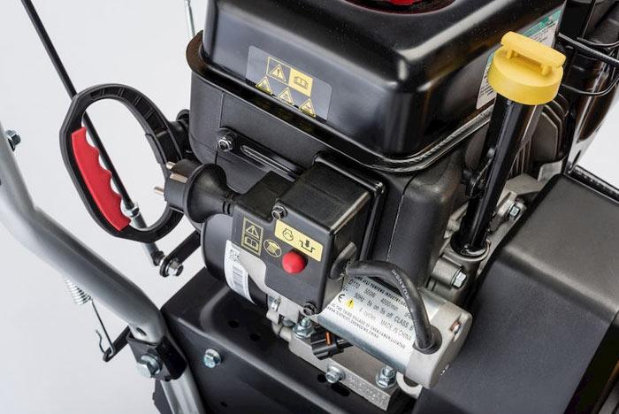 Электрозапуск и ручной стартер